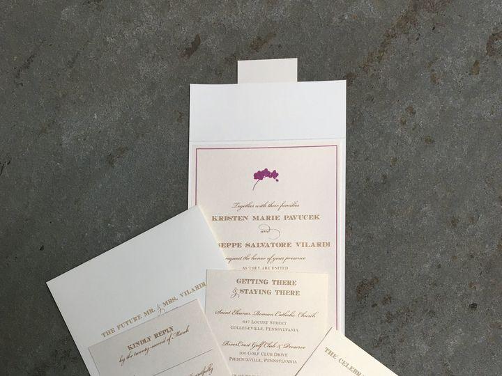 Tmx 1496956804457 Img1670 Skippack, PA wedding invitation