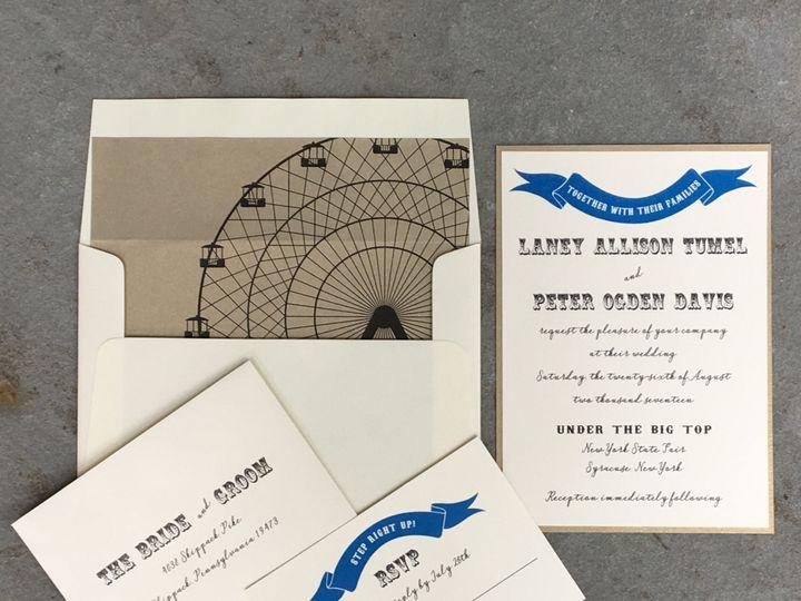 Tmx 1497805040744 Fullsizerender 1 Skippack, PA wedding invitation
