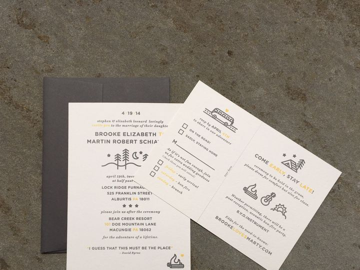 Tmx 1497805196816 Img1716 Skippack, PA wedding invitation