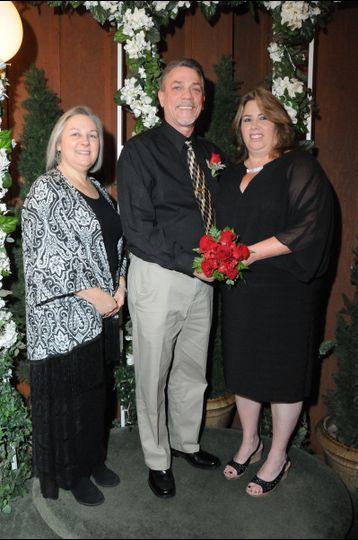 Doug & tina 25-year vow renewal