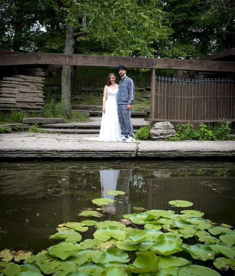 Beautiful couple & setting