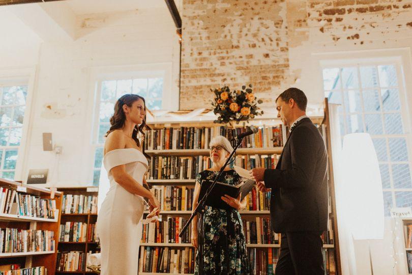 Book Store Wedding