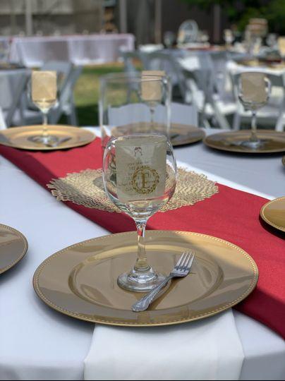 Beautiful wine glass