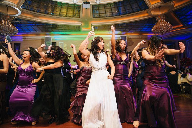 It's a dance party