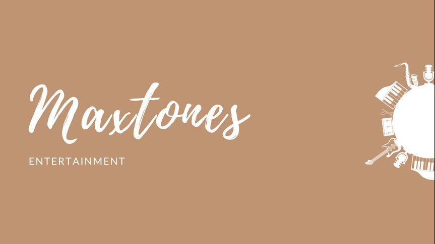 Maxtones Entertainment Banner
