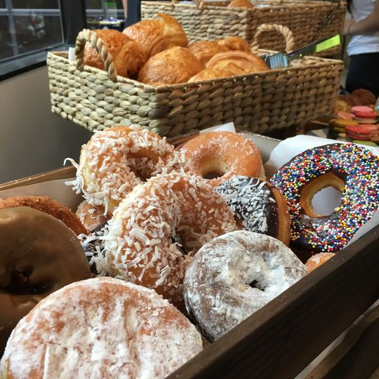 Fresh pastries buffet