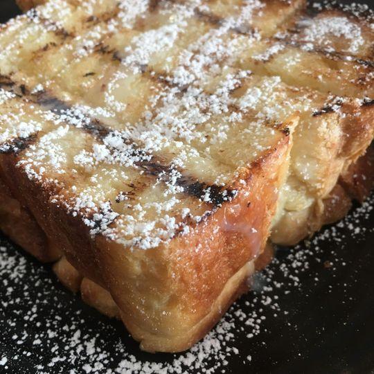 Swirl Coffee French toast