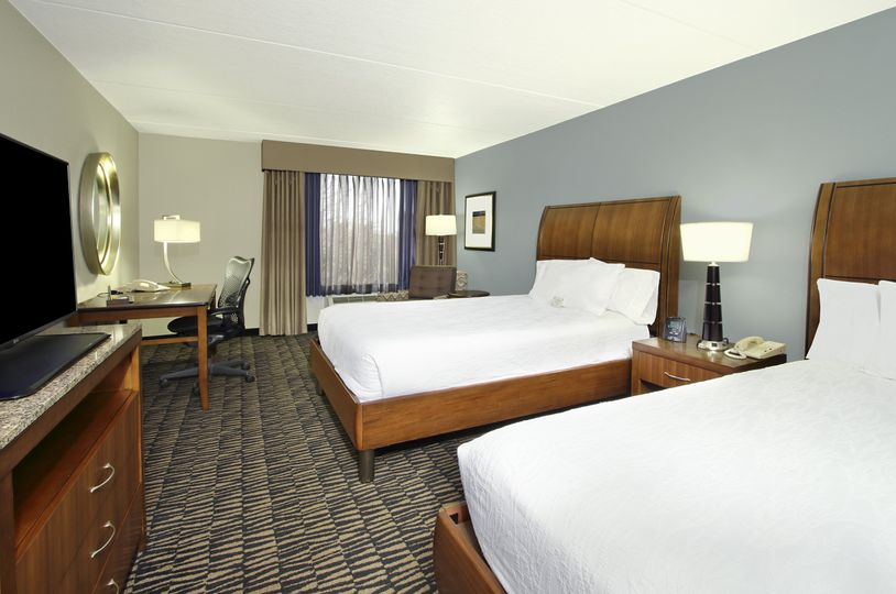 Double/double guestroom