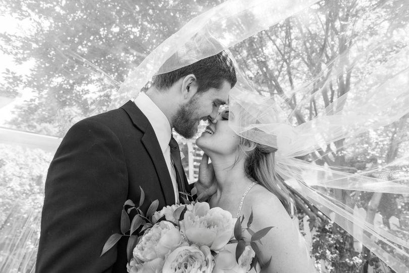 Josh & Meredith - the veil
