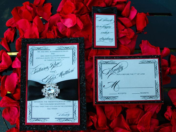 Tmx Invite 6 51 1021479 Eatontown, New Jersey wedding invitation