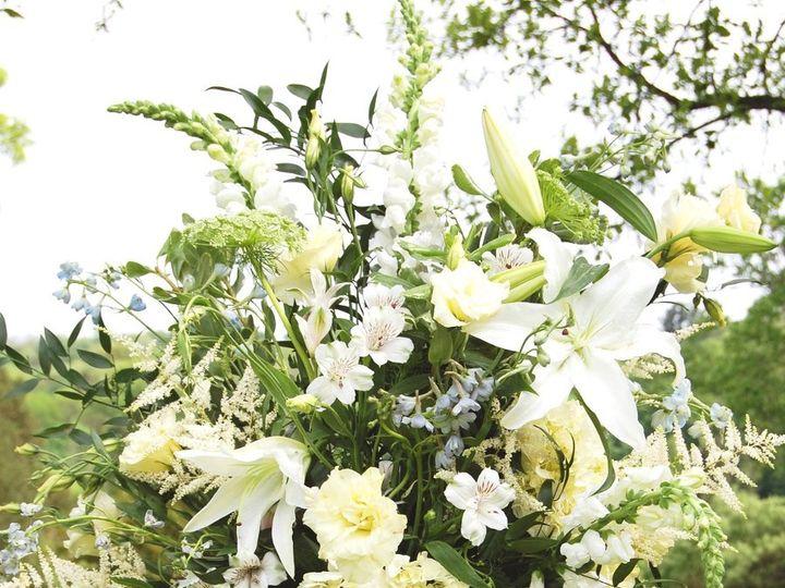 Tmx 1354467206585 MorrisArbWhitePedestalArr Philadelphia, Pennsylvania wedding florist