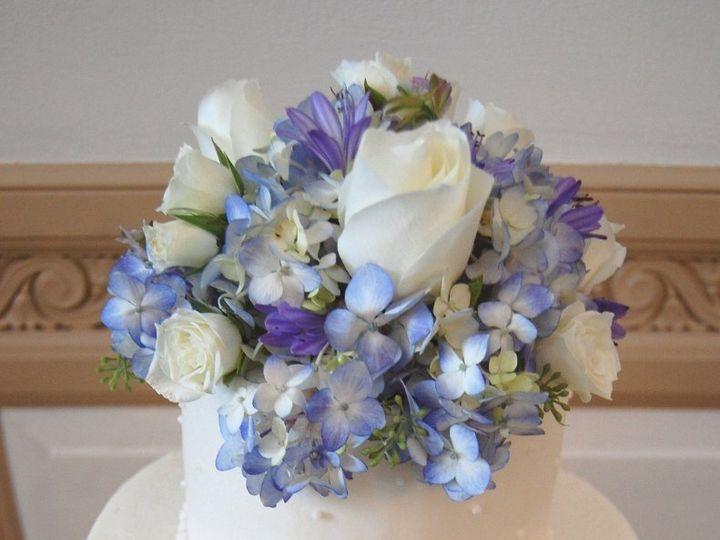 Tmx 1354467660639 DTClubBluePurpleCake Philadelphia, Pennsylvania wedding florist
