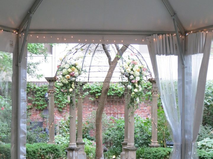 Tmx 1438812535826 Morrishousehotelpergola Philadelphia, Pennsylvania wedding florist