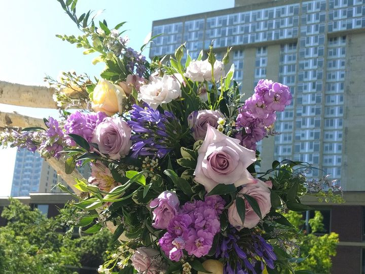 Tmx 1485979089484 Purplebircharchdetail Philadelphia, Pennsylvania wedding florist
