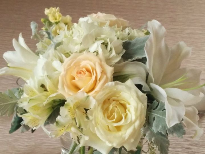 Tmx 1486004633673 Creamroselilycp Philadelphia, Pennsylvania wedding florist