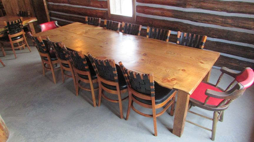 Rustic Tables / Chairs