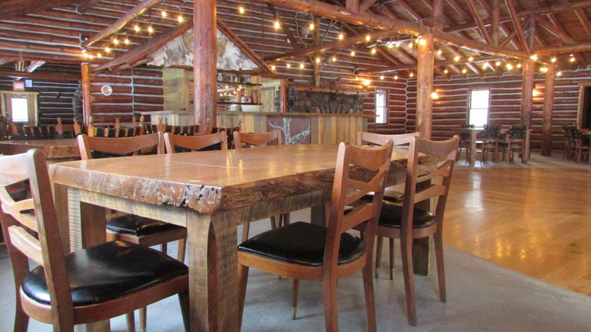 Rustic Lodge Tables