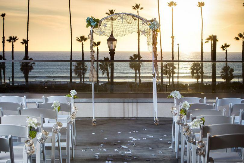 springhill suites oceanside ceremony