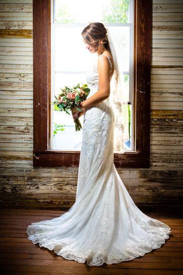 A bridal portrait