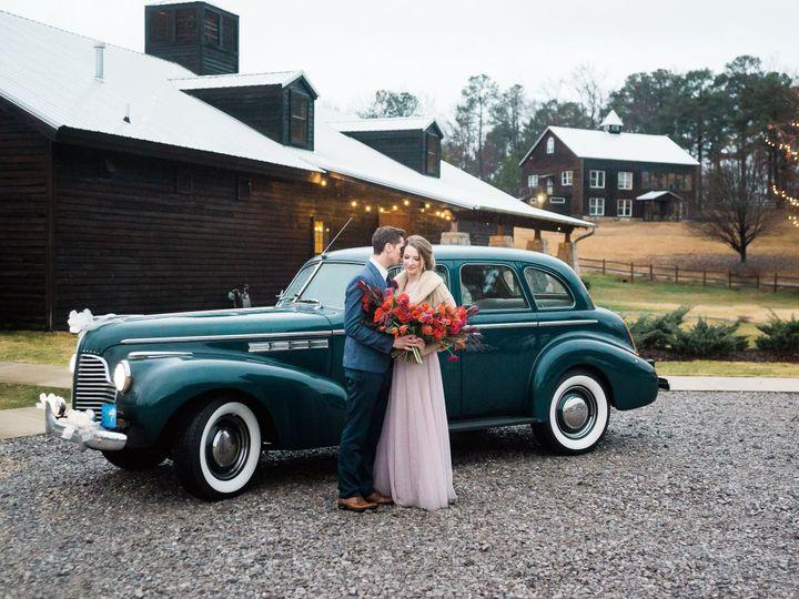 Tmx 1521171176 753c9e849365821e Bride Groom At Car Full Prop View 2Bphoto Bessemer, AL wedding venue