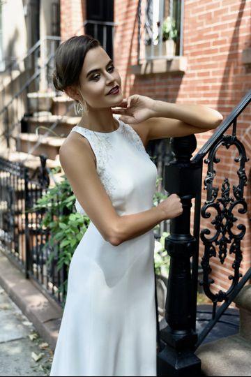 NYC style bride.