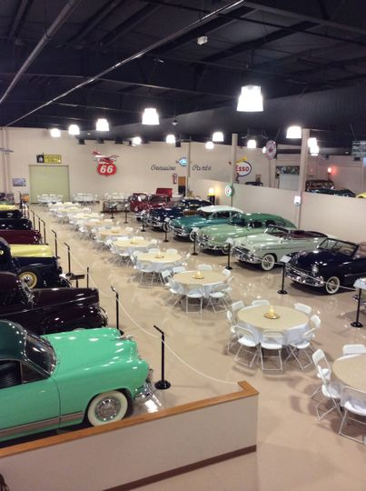 Dick 39 s classic garage auto museum and event center venue for Bluebonnet motors used cars