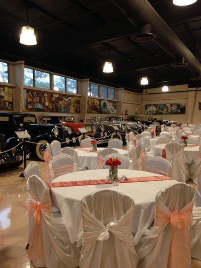 Dick S Classic Garage Auto Museum And Event Center Venue
