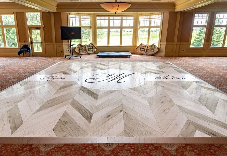 highendherringbone wedding 24x20 mockup dance floor decal dance floor decor weddings weddings on a budget custom barn wood barnwood gray grey 51 1866479 1566830475