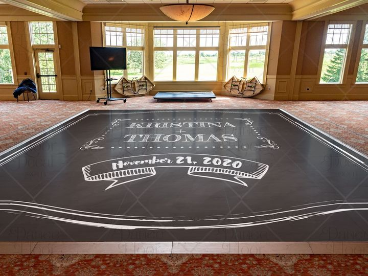 Tmx Chalkboardchic Mockup Dance Floor Decal Dance Floor Decor Weddings Weddings On A Budget Custom 51 1866479 1566830464 Gurnee, IL wedding eventproduction