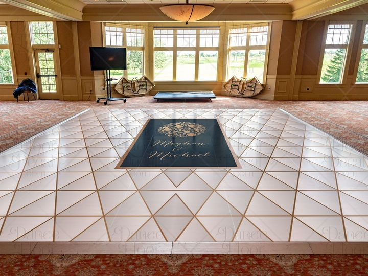 Tmx Realromance Mockup Traditional Geometric Gold Dance Floor Decal Dance Floor Decor Weddings Weddings On A Budget Custom 51 1866479 1566830477 Gurnee, IL wedding eventproduction
