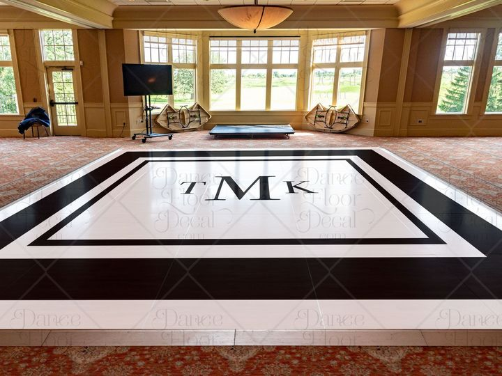 Tmx Sleekstyle Mockup Dance Floor Decal Dance Floor Decor Weddings Weddings On A Budget Monogram Modern Black White Custom 51 1866479 1566830479 Gurnee, IL wedding eventproduction