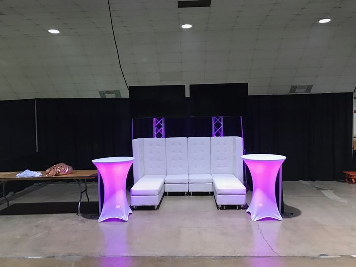 Booth and furniture