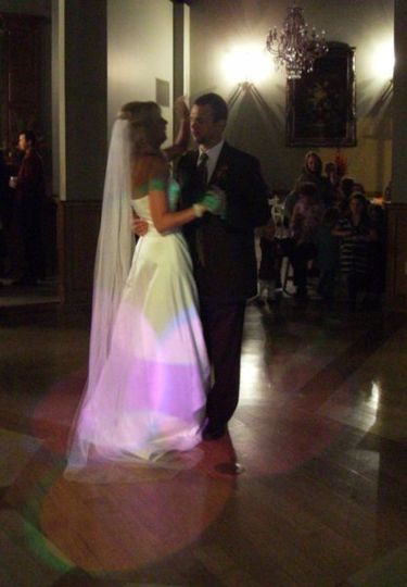 First Dance - with lighting