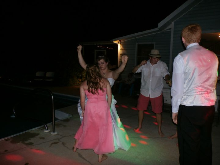 bride dancing the night away