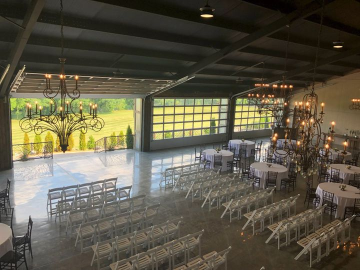 Indoor Ceremony and Reception