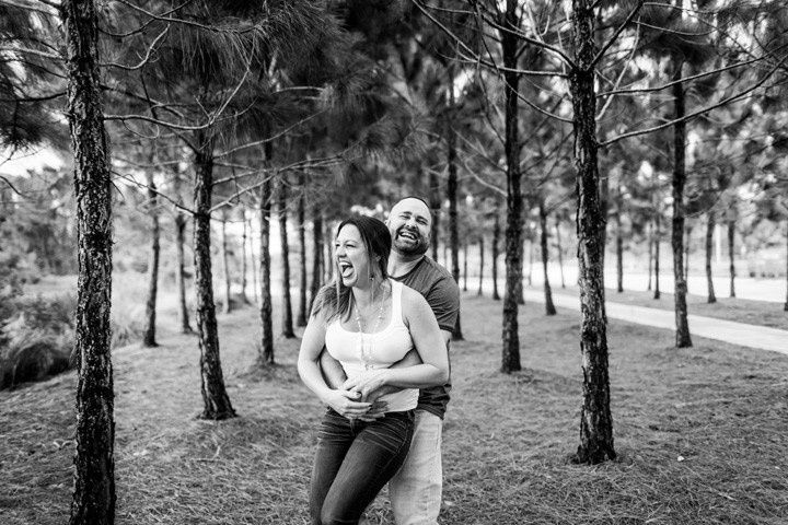 Tampa engagement session