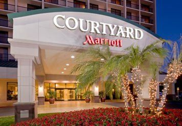 Courtyard by Marriott Monrovia front