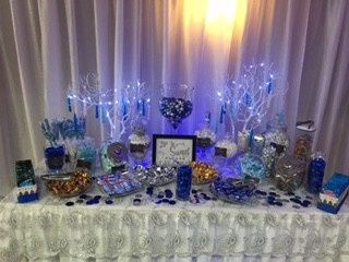 Sample snack table