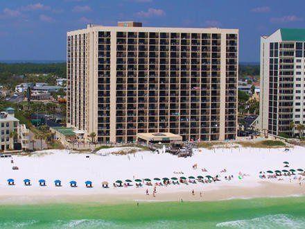 Aerial view of SunDestin Beach Resort
