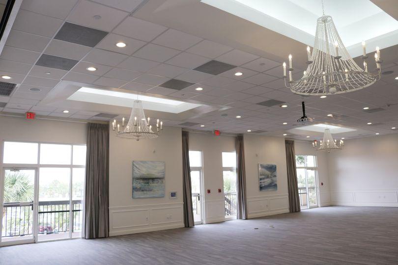Newly remodeled Ballroom