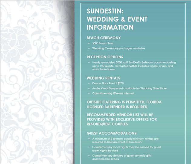 SunDestin Pricing