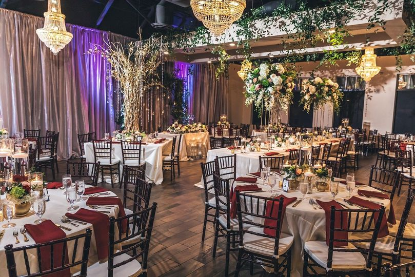 Chandelier Event Venue