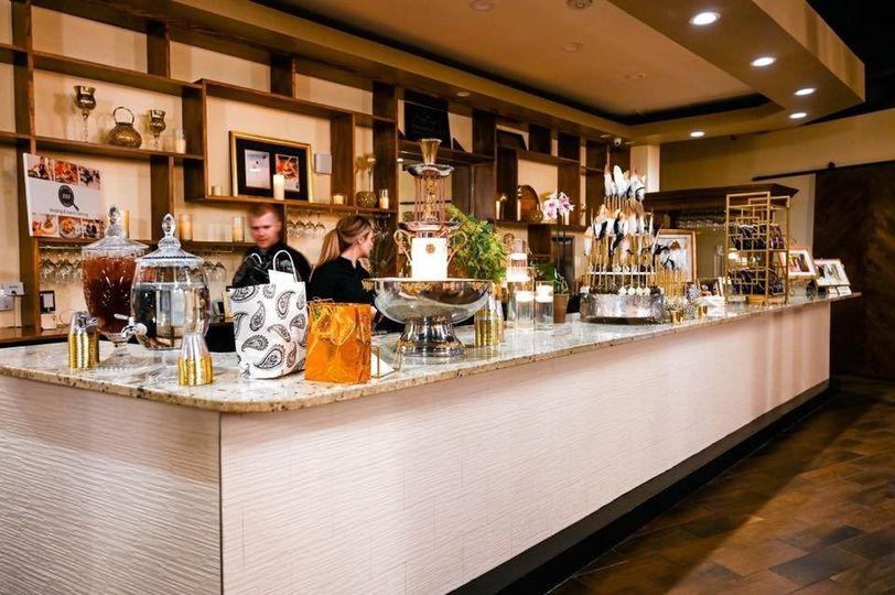 Elegant Granite Bar