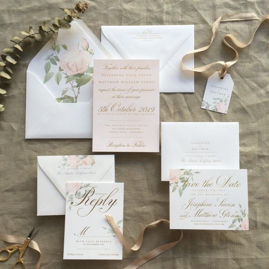 Hyegraph Invitations and Calligraphy Invitations San Francisco