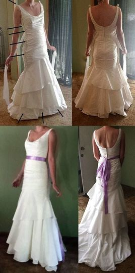 This dress was quite a challenge. For those who are interested, this is what had to be done: 1, Full...
