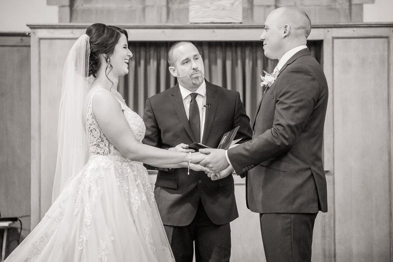 Brooke and Ryan - Saying the vows