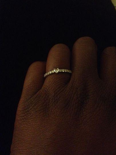 Dainty Diamond Sweetheart Ring