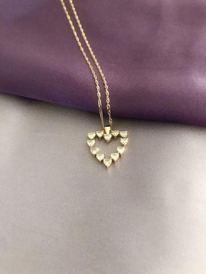 Heart of Hearts Pendant and chain