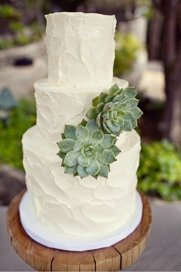 San Francisco wedding cake