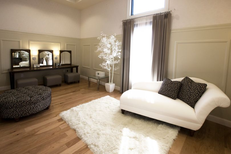 Bridal suite with luxurious furnishings